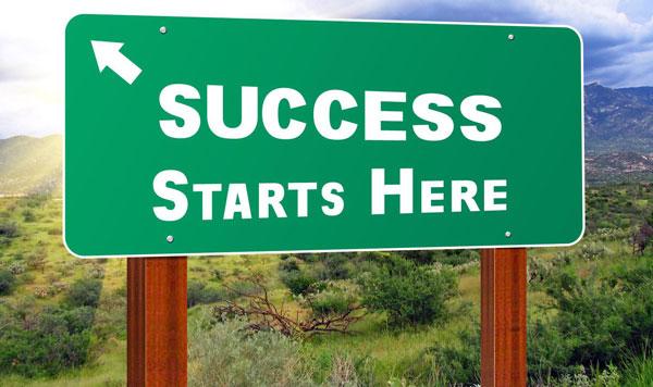 Success starts with entrepreneurship